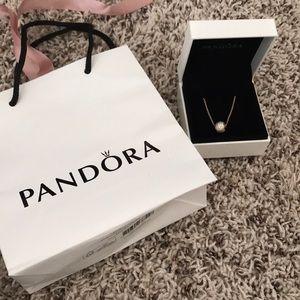 Brand new with box Pandora necklace